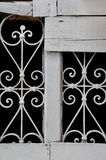 Vintage decorative metal pattern Stock Images