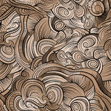 Vintage decorative ornamental seamless pattern Stock Photography
