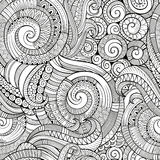 Vintage decorative ornamental seamless pattern Stock Photos