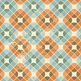 Vintage decorative seamless pattern, geometric abstract backgrou Royalty Free Stock Image