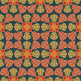 Vintage decorative, seamless pattern with ornamental arabesque Stock Image