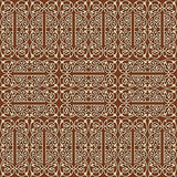 Vintage decorative, seamless pattern with ornamental, arabesque Royalty Free Stock Photos