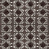 Vintage decorative, seamless pattern with ornamental, oriental arabesque Royalty Free Stock Photography