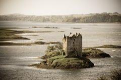 Vintage del castillo del acosador Imágenes de archivo libres de regalías
