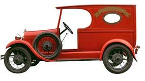 Vintage delivery car. Vintage bakery delivery car Stock Images
