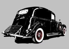 Vintage delivery car Stock Image
