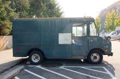 Vintage Delivery Van Stock Images