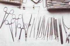 Vintage dental instruments Stock Image
