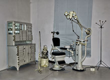 Vintage dentist chair Royalty Free Stock Photography