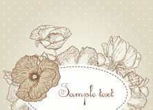 Vintage design Royalty Free Stock Photography