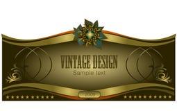 Vintage design Stock Images