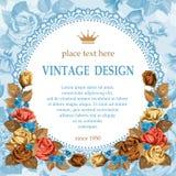 Vintage design Stock Image