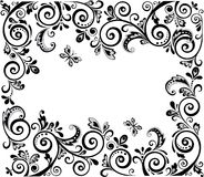 Vintage design (black and white) Royalty Free Illustration