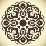 Vintage design element. Design of a vector background in vintage style Royalty Free Stock Photo