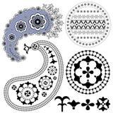 Vintage design elements Stock Image