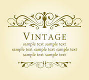 Vintage design elements Stock Photography