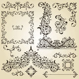 Vintage Design Elements Royalty Free Stock Images