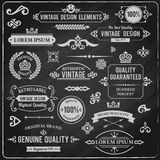 Vintage Design Elements Stock Images