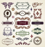 Vintage design elements Royalty Free Stock Photo