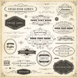 Vintage Design Elements Royalty Free Stock Photos