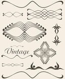 Vintage. Design elements Royalty Free Stock Photos