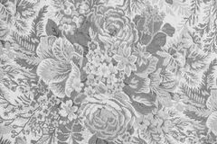 Vintage design of fabric floral Royalty Free Stock Photography