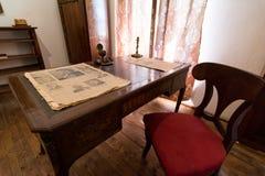 Vintage desk Royalty Free Stock Images
