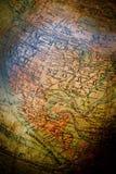 Vintage desktop globe Stock Image
