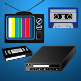 Vintage devices Royalty Free Stock Photos