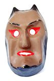 Vintage Devil mask Stock Photos