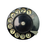 Vintage dial disk Stock Photography