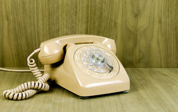 Vintage Dial Telephone Royalty Free Stock Photos