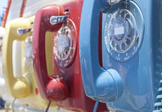Vintage Dial Telephones Royalty Free Stock Image