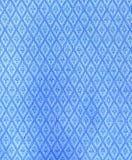 Vintage diamond pattern fabric Royalty Free Stock Images