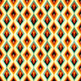 Vintage diamond seamless pattern Stock Photography