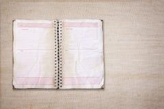 Vintage diary Stock Photos