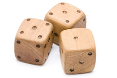 Vintage dices Stock Photos