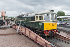 Vintage diesel locomotive Royalty Free Stock Image