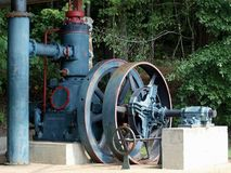 Vintage diesel pump Royalty Free Stock Photography