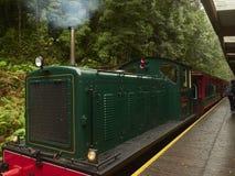 Free Vintage Diesel Wilderness Train Strahan Tasmania Stock Photography - 174523342