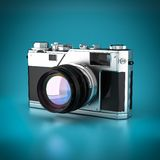 Vintage digital camera Stock Photography