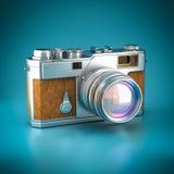 Vintage digital camera Stock Photos