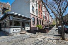 Vintage diner in Manhattan Royalty Free Stock Photo