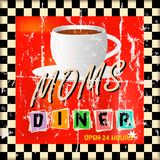 Vintage diner sign, Stock Photography