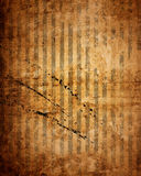 Vintage dirty striped wallpaper Royalty Free Stock Image