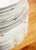 Vintage dishes set Stock Images