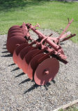 Vintage Disk Plow Royalty Free Stock Photo