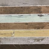 Vintage distressed colored wood slats background texture Stock Image