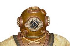 Vintage Diver Head stock photos