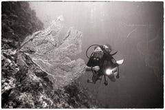 Vintage Diver Stock Image